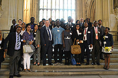 Scholars in Westminster Hall