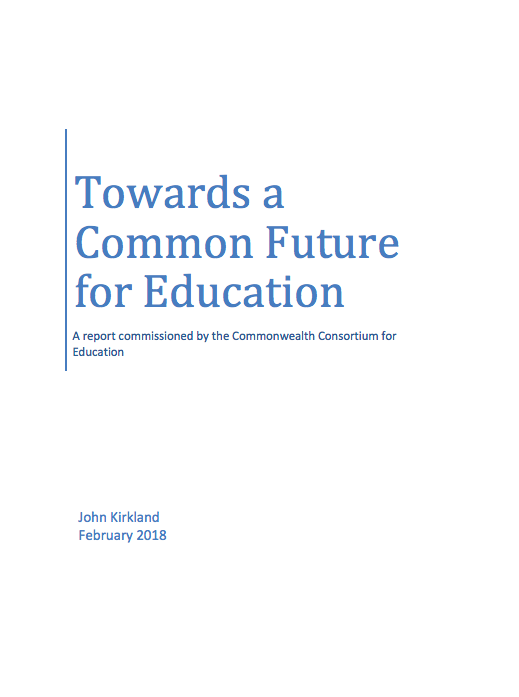 TOWARDS A COMMON FUTURE FOR EDUCATION